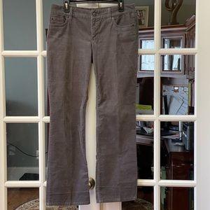 J.Crew Grey Courduroy Jeans
